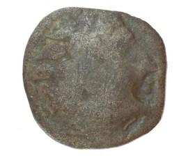 Monnaie, Gaulois, Quinaire ou obole à la cavaliere, Picton, Argent, Ier siècle avant JC, Poitiers, P10017