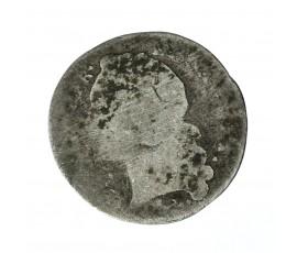 Monnaie, France , 1/20 écu au bandeau, Louis XV, Argent, 1749, Bayonne (L), P11292