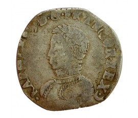 Monnaie, France , Teston, Charles IX, Argent, 1563, Bayonne (L), P11331