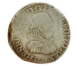 Monnaie, France , Teston, Henri III, Argent, 1575, Nantes (T), P11332