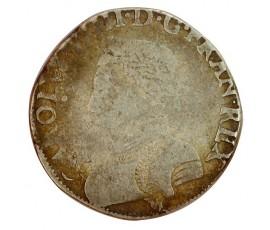 Monnaie, France , Teston, Charles IX, Argent, 1566, Toulouse (M), P11335