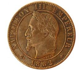 Monnaie, France , 1 centime, Napoléon III, Bronze, 1862, Paris (A), P10366
