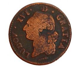 Monnaie, France , Sol de Béarn, Louis XVI, Cuivre, 1784, Pau, P11384