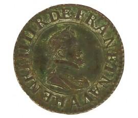 Monnaie, France , Double tournois, Henri IV, Cuivre, 1604, Paris (A), P11433