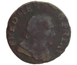 Monnaie, Orange, Double tournois, Fréderic-Henri de Nassau, Cuivre, 1641, Orange, P11442