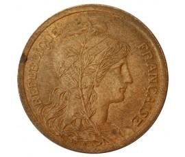 Monnaie, France , 2 centimes Daniel Dupuis, IIIème République, Bronze, 1898,, P10388