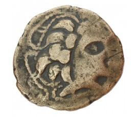 Monnaie, Gaulois, Statère à l'hippophore, Namnètes, Electrum, Ier siècle av. JC, Nantes, P10018