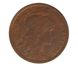 Monnaie, France , 2 centimes Daniel Dupuis, IIIème République, Bronze, 1914,, P10393