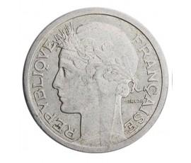 Monnaie, France , 2 francs Morlon, Gouvernement provisoire, Aluminium, 1946, Beaumont le Roger (B), P10397