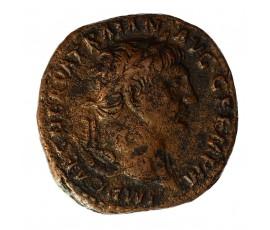 Monnaie, Empire Romain, As, Trajan, Cuivre, 98, Rome, P11612
