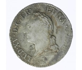 Monnaie, France , Ecu de Béarn à la vieille tête, Louis XV, Argent, 1772, Pau, P11694