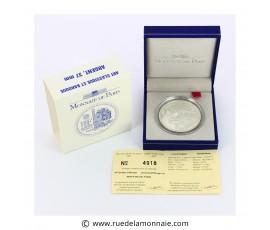 Monnaie, France , 1 € BE Art classique et baroque, Monnaie de Paris, Argent, 2000, Pessac, P11753