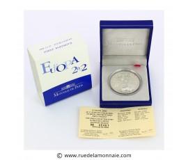 Monnaie, France , 1 € 1/2 argent BE Europa, Monnaie de Paris, Argent, 2002, Pessac, P11759