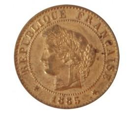 Monnaie, France , 1 centime Cérès, IIIème République, Bronze, 1885, Paris (A), P10527