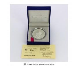 Monnaie, France , 15 écus / 100 francs BE Jean Monnet, Monnaie de Paris, Argent, 1992, Pessac, P11776