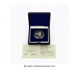 Monnaie, France , 10 francs BE Roland Garros, Monnaie de Paris, Argent, 1988, Pessac, P11779