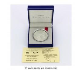 Monnaie, France , 15 écus / 100 francs BE Arc de tromphe, Monnaie de Paris, Argent, 1993, Pessac, P11792