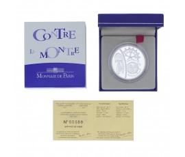Monnaie, France , 1 € 1/2 BE contre la montre, Monnaie de Paris, Argent, 2003,, P11803