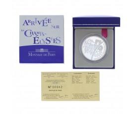 Monnaie, France , 1 € 1/2 BE arrivée sur les Champs-Elysées, Monnaie de Paris, Argent, 2003,, P11805