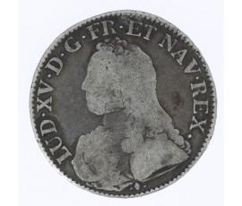 Monnaie, France , Ecu aux branches d'olivier, Louis XV, Argent, 1728, Bayonne (L), P11829