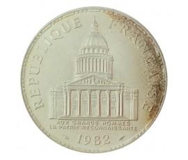 Monnaie, France , 100 francs Panthéon, Vème République, Argent, 1982, Paris (A), P10566