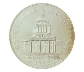 Monnaie, France , 100 francs Panthéon, Vème République, Argent, 1983, Paris (A), P10567