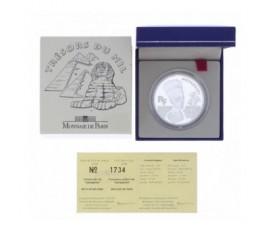 Monnaie, France , 10 francs BE Néfertiti, Monnaie de Paris, Argent, 1998,, P11895