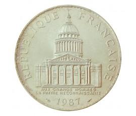 Monnaie, France , 100 francs Panthéon, Vème République, Argent, 1987, Paris (A), P10571