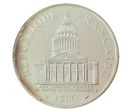 Monnaie, France , 100 francs Panthéon, Vème République, Argent, 1990, Paris (A), P10573