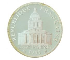 Monnaie, France , 100 francs BE Panthéon, Vème République, Argent, 1995, Paris (A), P10575
