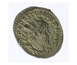 Monnaie, Empire Romain, Antoninien de poids léger, Postumus, Billon, 268, Cologne, P11998