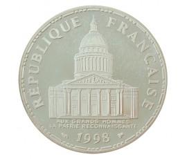 Monnaie, France , 100 francs BE Panthéon, Vème République, Argent, 1998, Paris (A), P10577