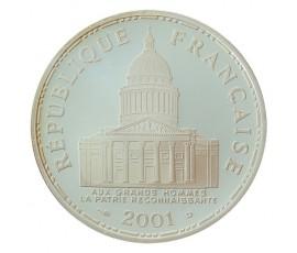 Monnaie, France , 100 francs BE Panthéon, Vème République, Argent, 2001, Paris (A), P10578