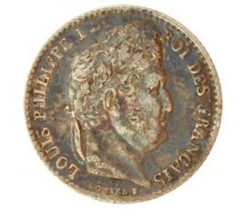 Monnaie, France , 1/4 franc, Louis-Philippe Ier, Argent, 1831, Lille (W), P10582