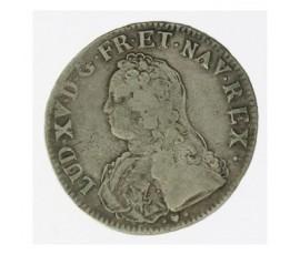 Monnaie, France , Ecu aux branches d'olivier, Louis XV, Argent, 1737, Strasbourg (BB), P12165