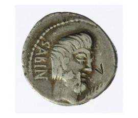 Monnaie, République Romaine, Denier , Tituria, Argent, 89 AC, Rome, P12229