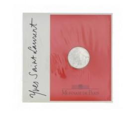 Monnaie, France , 5 francs BU Yves Saint Laurent, Monnaie de Paris, Argent, 2000, Pessac, P12296