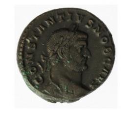 Monnaie, France, Follis, Constance Ier Chlore, Bronze, 296/297, Trèves (TR), P12329