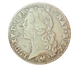 Monnaie, France , Ecu au bandeau, Louis XV, Argent, 1766, Bayonne (L), P10706