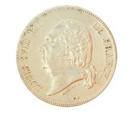 Monnaie, France , 5 francs buste nu, Louis XVIII, Argent, 1824, Paris (A), P10722