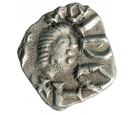 Monnaie, France, Denier, Melle, Argent, VII/VIIIème siècle, Melle, P12543