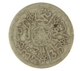 Monnaie, Maroc, 1 dirham, Abdul Aziz I, Argent, 1315, Paris, P10763
