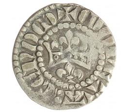 Monnaie, Maine, Denier, Charles III le Valois, Billon, 1290/1317, Le Mans, P10036