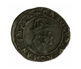 Monnaie, Franche-Comté, Carolus, Charles V dit Charles Quint, Argent, 1619, Besançon, P12878