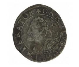 Monnaie, Franche-Comté, Gros, Charles V dit Charles Quint, Argent, 1623, Besançon, P12880