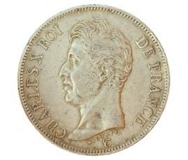 Monnaie, France , 5 francs, Charles X, Argent, 1826, Bordeaux (K), P10804