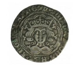 Monnaie, Calaisis, Gros, Henri VI d'Angleterre, Argent, 1422/1427, Calais, P12900