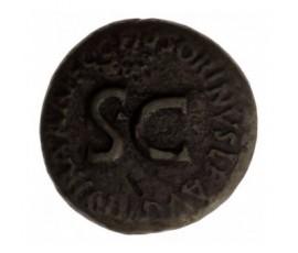 Monnaie, Empire Romain, Dupondius Marcius Censorinus, Auguste, Bronze, 27 AC/14, Rome, P12910