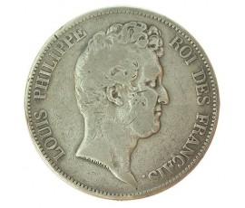 Monnaie, France , 5 francs, Louis-Philippe Ier, Argent, 1830, Paris (A), P10807
