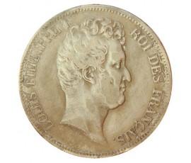 Monnaie, France , 5 francs, Louis-Philippe Ier, Argent, 1830, Rouen (B), P10808
